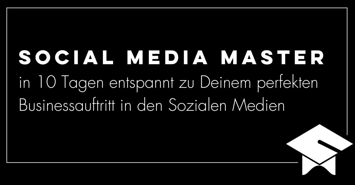 Social Media Marketing Expert | Konzept | Training
